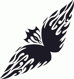 Floral Tribal Tattoo Free CDR Vectors Art