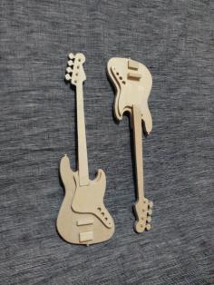 Bass Guitar Free CDR Vectors Art
