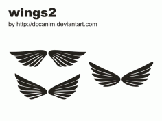 Dccanim Wings -226907 Free CDR Vectors Art