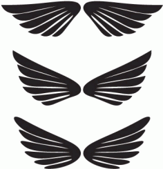 Dccanim_wings -248370 Free CDR Vectors Art