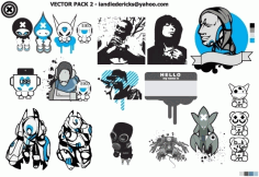 EIKO PACK Free CDR Vectors Art