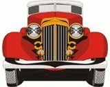 Cartoon car Free CDR Vectors Art