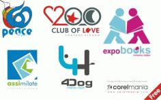 6 logo Download Free CDR Vectors Art