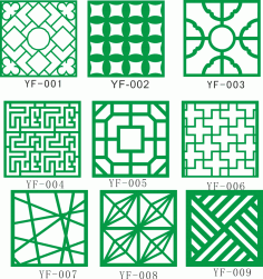 2D Lattice Design Collection Free CDR Vectors Art