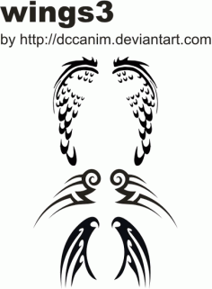 Dccanim_wing-3119982 Free CDR Vectors Art