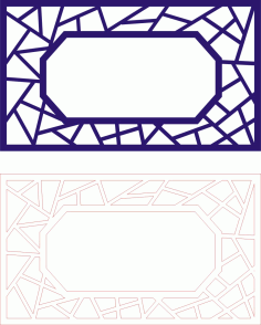 Laser Cut Seamless Panel Design-128 Free CDR Vectors Art