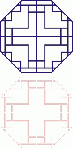 Laser Cut Seamless Panel Design-133 Free CDR Vectors Art