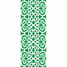 Cnc Panel Laser Cut Pattern File cn-h245 Free CDR Vectors Art