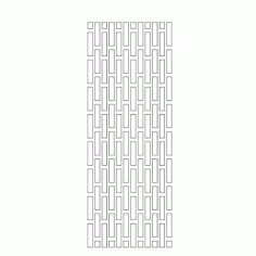 Cnc Panel Laser Cut Pattern File cn-h243 Free CDR Vectors Art