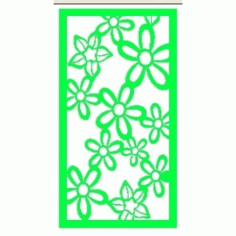 Cnc Panel Laser Cut Pattern File cn-h215 Free CDR Vectors Art