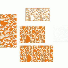 Cnc Panel Laser Cut Pattern File cn-h190 Free CDR Vectors Art