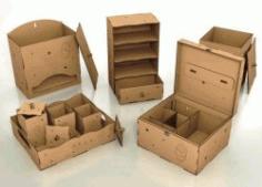 Box Model File Download For Laser Cut Free CDR Vectors Art