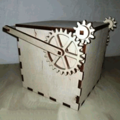 Mechanical Box File Download For Laser Cut Free CDR Vectors Art