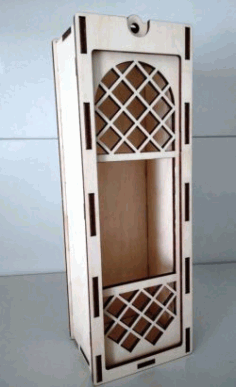 Wine Box File Download Laser Cut Free CDR Vectors Art