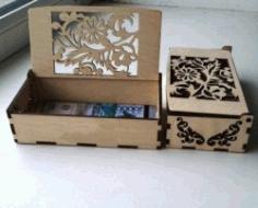 Money Box File Download For Laser Cut Cnc Free CDR Vectors Art