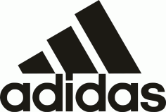Adidas Logo In New Format File Free CDR Vectors Art