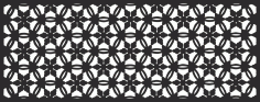 Geometric Floral Pattern File Free CDR Vectors Art