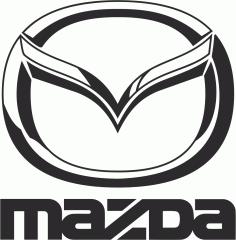Mazda Logo File Free CDR Vectors Art