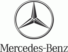Mercedes Benz Logo File Free CDR Vectors Art