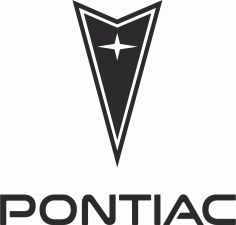 Pontiac Logo File Free CDR Vectors Art
