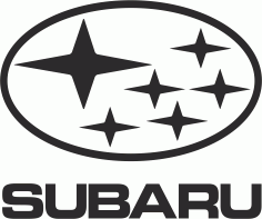 Subaru Logo File Free CDR Vectors Art
