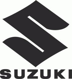 Suzuki Logo File Free CDR Vectors Art