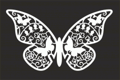 Butterfly Design Art File Free CDR Vectors Art