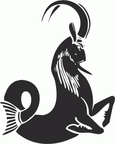 Capricorn File Free CDR Vectors Art