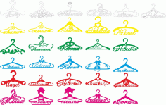 Hangers Pack File Free CDR Vectors Art