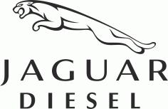 Jaguar Diesel Logo File Free CDR Vectors Art