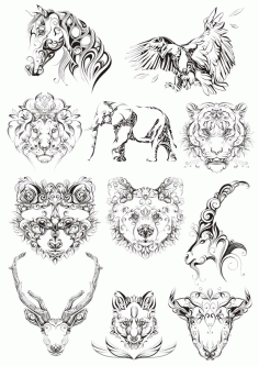 Original Animals File Free CDR Vectors Art