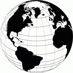 World Globe File Free CDR Vectors Art