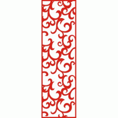 Cnc Panel Laser Cut Pattern File cn-h133 Free CDR Vectors Art