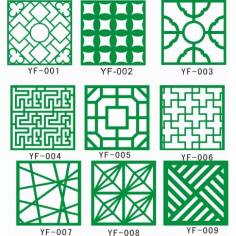 Cnc Panel Laser Cut Pattern File cn-h125 Free CDR Vectors Art