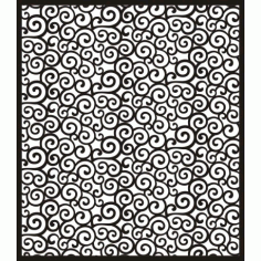 Cnc Panel Laser Cut Pattern File cn-h0104 Free CDR Vectors Art