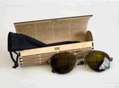 Wooden Eyeglasses Box Download For Laser Cut Free DXF File