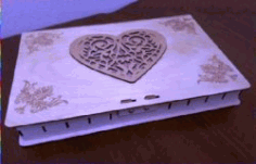 Jewelry Box File Download For Laser Cut Free DXF File