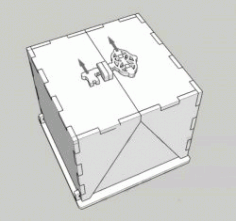 Safety Lock Box File Download For Laser Cut Cnc Free DXF File