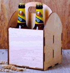 Beer Box Download For Laser Cut Free DXF File