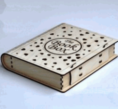 Book Box Download For Laser Cut Cnc Free DXF File