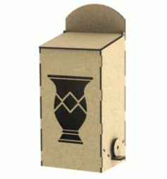 Box Erba Mate Download For Laser Cut Free DXF File