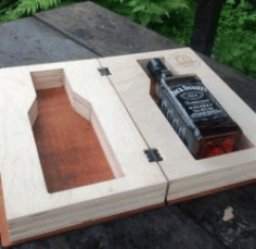 Whiskey Box Download For Laser Cut Free DXF File
