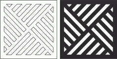 Geometric Grille Pattern File Free CDR Vectors Art
