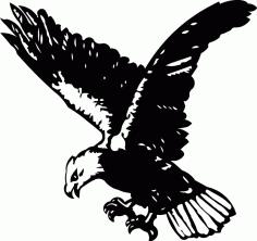 Eagle Free DXF File