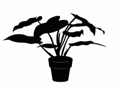 House Plant 1 Free DXF File