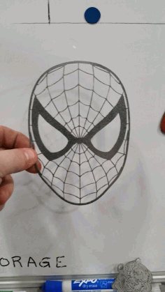 Spiderman Free DXF File