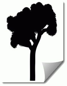 Tree 4 Free DXF File