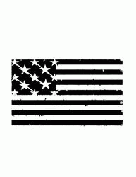 Usa Metal Cut Out Free DXF File