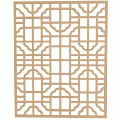 Fancy Separator Pattern Free DXF File