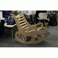 Laser Cut Chair Template Free DXF File